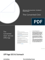 The Converted Click Product Overview