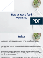 Keyword - How to Own a Food Franchise