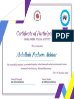 Certificate- number two