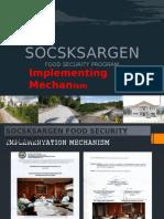 SSSG FSP Implementation Mechanism