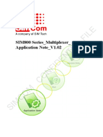 SIM800 Series_Multiplexer_Application Note_V1.02