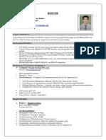 Shubham SAP MM CV