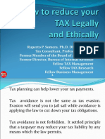 how to reduce your tax legally and ethically(3-17-14).ppt