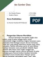 Mortalitas dan Sumber Data Mortalitas PPT