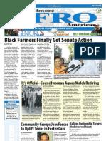 Baltimore Afro-American Newspaper, November 27, 2010