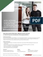 Abschlussarbeit (Bachelor-Masterarbeit) (mwd) zur