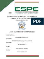 ARCO ELECTRICO CONTACTORES