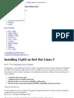 Installing 11gR2 on Red Hat Linux 5