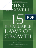 John C. Maxwell - The 15 Invaluable Laws of Growth.epub