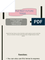 SIMPLE PAST FUTURE TENSE ppt