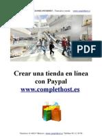 Crear Tienda Online Con Paypal
