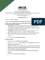 MCX- 0023- Non-Comprehensive AMCsubstation
