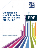 LEEA-054_Guidance_on_conflicts_within_EN_13414-1_and_EN_13411-3_version_1_July_13
