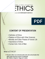 ETHICS (LECTURE)