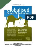 Habib Ali Al-Jifri on 'Globalised before Globalisation'