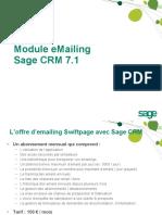 Sage CRM Module E-mailing