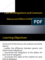 Lecture - Law 21 - 04 - Nature and Effect of Obligations (1).pptx