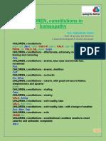 Children Constitution in homeopathy