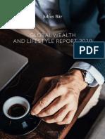Relatório Global de Riqueza e Estilo de Vida 2020