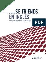MUESTRA VAUGHAN - False Friends en inglés que deberías conocer