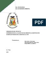 PROYECTO DE QUIMICA