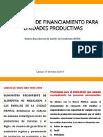 PROPUESTA DE MODELO DE FINANCIAMIENTO PRODUCTORES