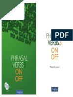 MUESTRA VAUGHAN - Phrasal Verbs 3  ON - OFF