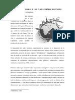 EL DERECHO LABORAL Y LAS PLATAFORMAS DIGITALES