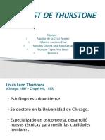 exposicion de  Thurstone