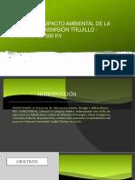 EIA LINEA DE TRASMISION TRUJILLO CHICLAYO EN 500 kV