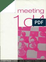 Aagaard Jacob & Lund Esben - Meeting 1 d4, 2002-OCR, Everyman, 177p