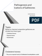 Types,Pathogenesis and Complications of Gallstones