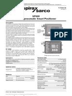 Posicionador SP400 - Válvula de control