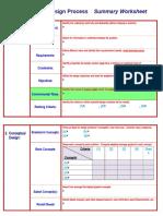 Design Process -Template