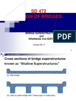 Lecture No.2 - Bridge-Superstructure
