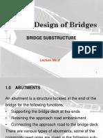Lecture No.3 - Bridge-Substructure.ppt