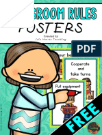 ClassroomRulesPostersFREE