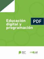 Educación digital y programación