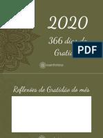 Calendario PLanejador 2020