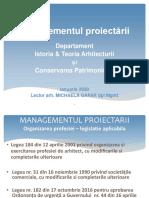 Managementul proiectarii-legislatie