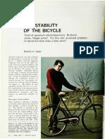 stability of bike