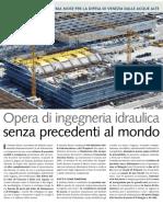 Brochure Mose del Consorzio Venezia Nuova
