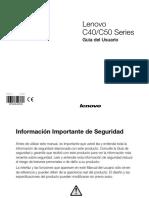Manual Tecnico Lenovo c40-05