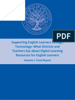 Supporting English Learners Through