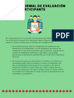 Proceso formal de evaluación para el participante