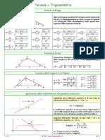 Formule trigonometria