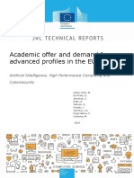 Academic offer and demand for advanced profiles in the EU