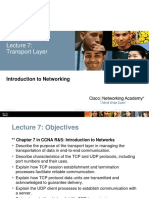 Lec07 Transport Layer