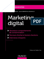 Marketing digital - Sandrine Medioni & Sarah Benmoyal Bouzaglo - Dunod - févr., 2018