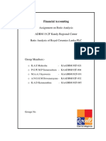 Financial Accounting report 2020
